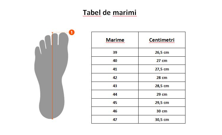 Image result for ghid marimi incaltaminte barbati